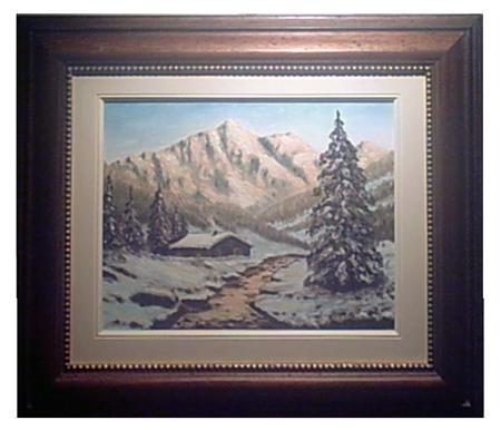 Nevicata Alpi